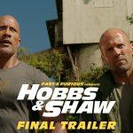 『ワイルド・スピード/スーパーコンボ(Hobbs And Shaw)』最終予告映像公開🚗!