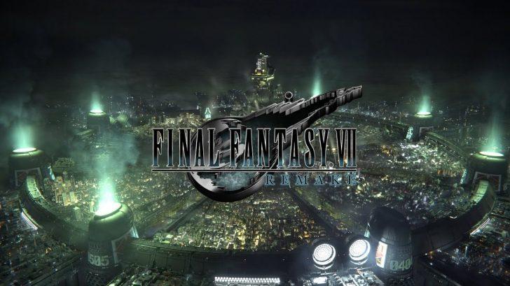 FINAL FANTASY VII REMAKE オープニングムービートレーラー