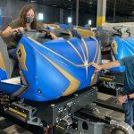 ウォルト・ディズニー・ワールド・リゾートに建造中のガーディアンズ・オブ・ギャラクシー:コスミック・リワインド のジェットコースター的なライドマシンの一部を動画公開🚀!